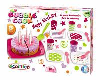 """Набор посуды Ecoiffier """"С Днем Рождения"""" с тортом, 26 аксес. (002613), фото 1"""