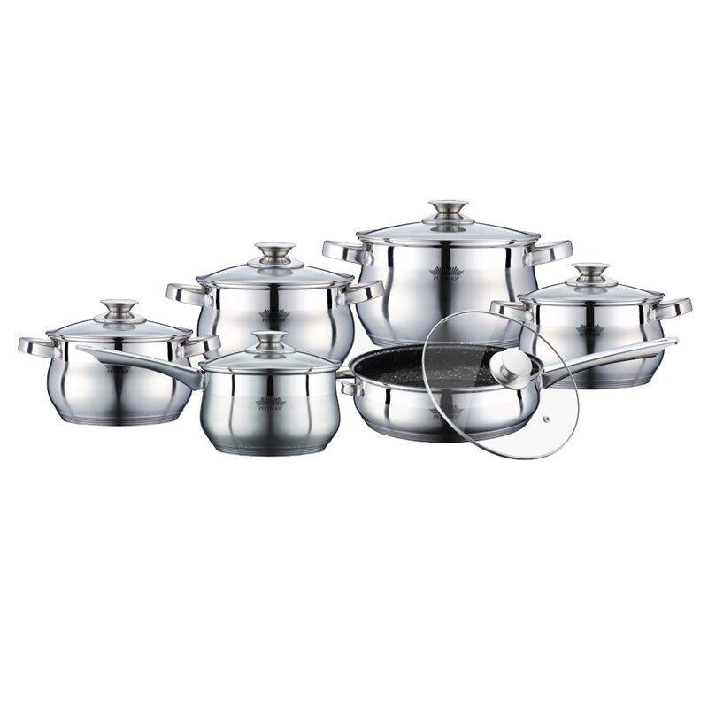 Набор посуды 12 предметов Peterhof PH-15774