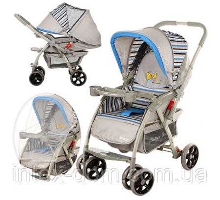 Детская прогулочная коляска BD208-4