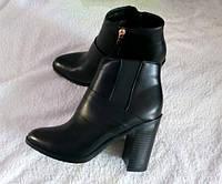 Ботинки ботильоны женские осенние на каблуке 40р