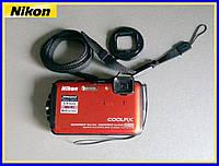 Фотоаппарат Nikon Coolpix AW110 Orange из США