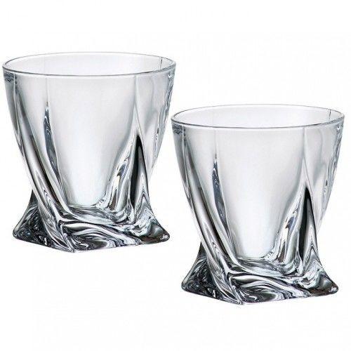 Набор стаканов для виски Bohemia Quadro 340мл 2шт. 2k936-99A44