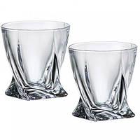 Набор стаканов для виски Bohemia Quadro 340мл 2шт. 2k936-99A44, фото 1