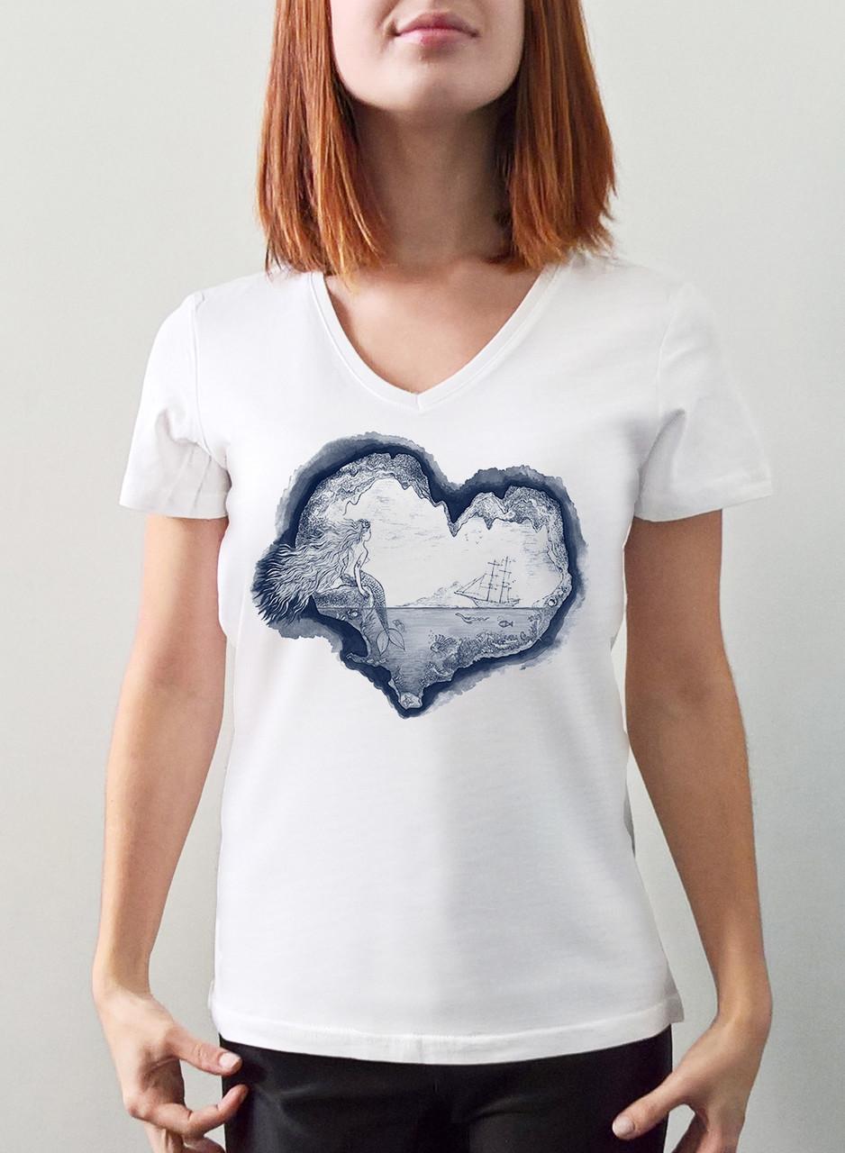 "Женская футболка ""Русалка"""