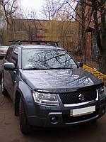Багажник на крышу Suzuki Grand Vitara (3 попереч.) / Сузуки Витара на штатные места 2005- г.в. 5 - дверная