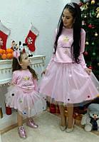 Свитшот Принцесса мама + дочка