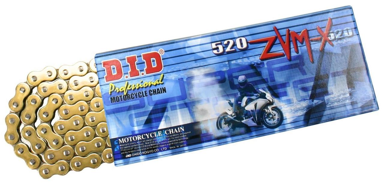 Приводная цепь 520ZVM-X Gold DID 520ZVM-X G&G - 116ZB