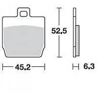 Тормозные колодки Braking 814SM1