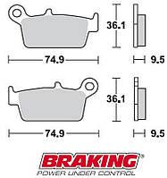 Тормозные колодки Braking 701SM1