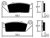 Тормозные колодки Braking 720SM1