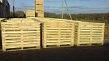 Контейнер деревянный 1600х1200х1200, фото 2