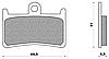 Тормозные колодки Braking 786CM55