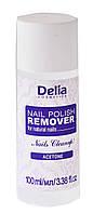 """Ацетоновая жидкость для снятия лака с натуральных ногтей """"Delia"""" (100ml)"""