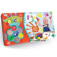 Пальчиковые краски Мое первое творчество 4 цвета Danko toys PK-02-01