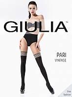 женские матовые колготки с имитацией под гетры Giulia