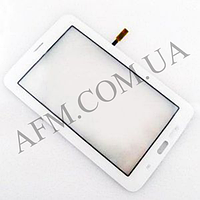 Сенсор (Touch screen) Samsung T110 Galaxy Tab 3 Lite 7.0/  T113/  T115 (версия Wi- fi) белый