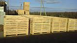 Контейнер деревянный 1600х1200х1200, фото 9