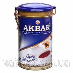 Чай Акbаr Pekoe 225 гр жестяная банка