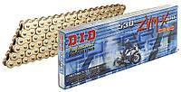 Приводная цепь 530ZVM-X Gold DID 50(530)ZVM-X G&G - 118ZB = 530ZVM-X G&G - 118ZB