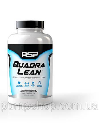 Жіросжігателя без стимуляторів RSP Nutrition QuadraLean 150 капс., фото 2