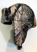 Шапка-ушанка зимняя для охоты Лес (р.L)