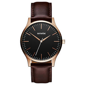 Часы мужские MVMT THE 40 - ROSE GOLD BROWN