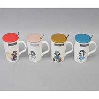 "Чашка-термо 250мл в подарочной коробке ""Lovery girl"""