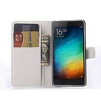 Чехол Xiaomi Mi4i / Mi4c книжка PU-Кожа белый