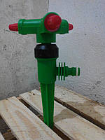 Вертушка, ороситель на 3 хода, под коннектор Лемира, фото 1