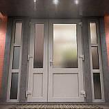 Вхідні двері металопластикові, фото 4