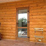 Вхідні двері металопластикові, фото 7