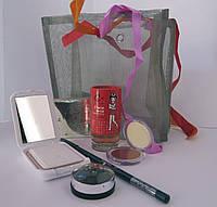 Подарочный набор косметики Карандаш+Тени +Пудра+Духи+Румяна+Стразы для тела(в ассортименте)