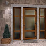Вхідні двері металопластикові, фото 5