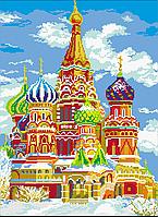 Схема для вышивки бисером Собор Василия Блаженного