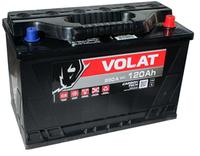 Аккумулятор автомобильный VOLAT - 120A (D2) +прав (950 пуск)