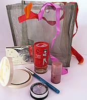 Подарочный набор косметики Карандаш+Тени+Пудра+Румяна+Духи+Стразы для тела(в ассортименте)