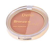 "Румяна ""Delia"" Bronze & Shine 2в1 (8g)"