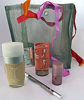 Подарочный набор косметики Карандаш+Тональный крем+Духи+Румяна+Стразы(в ассортименте)