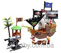 Пиратский корабль 31232B с пиратами