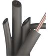 Теплоізоляція Insul Tube d15 товщ. 6мм (2м) для ізоляції мідних труб