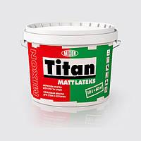 Акриловая моющаяся краска для стен и потолка Титан МАТЛАТЕКС 2.5л