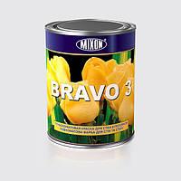 Глубокоматовая краска для стен и потолков BRAVO 3 1л