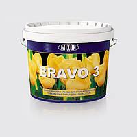 Глубокоматовая краска для стен и потолков BRAVO 3  2.5л