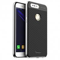 Чехол - бампер iPaky (Original) для Huawei Honor 8 - серебряный