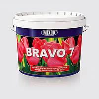 Матовая краска для стен и потолков BRAVO 7 5л