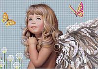 Схема для вышивки бисером Ангел