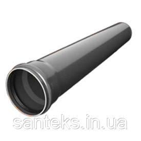 Труба ПВХ діаметр 110 х 1,0 м (2,2) внутрішня