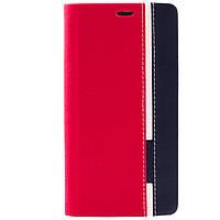 Чехол (книжка) с TPU креплением для Doogee Y300/Y300 Pro (Красный / Черный)