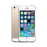 """Смартфон  iPhone 5S 4"""" 1/16 Гб 8/1,2 Мп рефреш (без отпечатка) gold золото оригинал Гарантия!"""