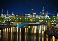 Схема для вышивки бисером огни ночного города. Москва